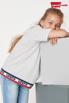 Levi's® Kids Grey Taped T-Shirt