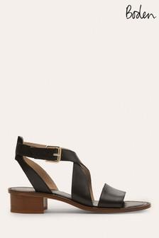 Boden Black Erin Sandals