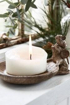 Подставка для свечи в виде мышки