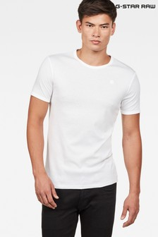 G-Star White Base T-Shirt Two Pack