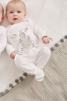 """Пижама с изображением зебры и надписью """"I Love My Daddy"""" (0-18мес.)"""