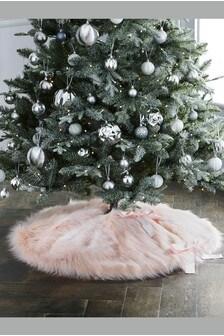 Faux Fur Tree Skirt (331095) | $43