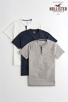 Hollister T-Shirts Three Pack