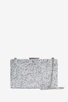 Sparkle Boxy Clutch Bag