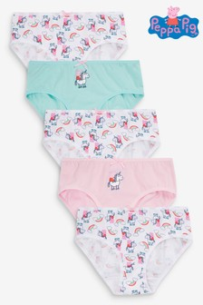 5 Pack Peppa Pig™ Briefs (1.5-8yrs)