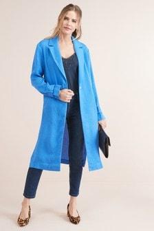 Легкое плиссированное пальто