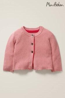 Mini Boden Pink Cosy Cardigan