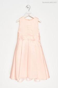 Angel & Rocket Pink Bow Back Dress