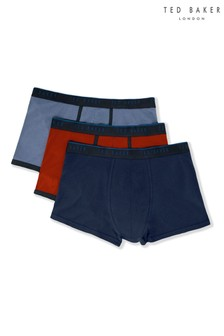 Ted Baker Red/Blue Trunks Three Pack