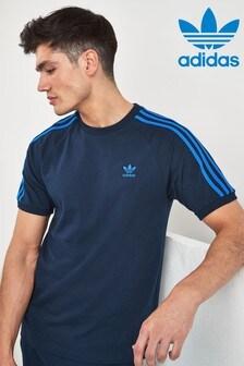 adidas Originals California T-Shirt mit 3 Streifen
