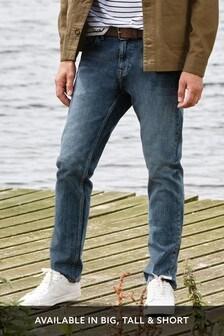 Jean stretch avec ceinture