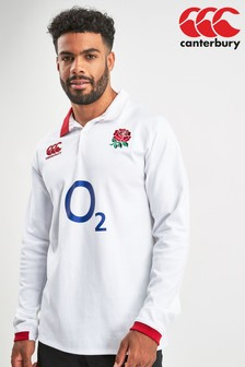 Canterbury England Long Sleeve Rugby Jersey