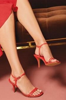 Sandale mit zweifachen Riemchen