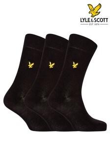 Lot de trois chaussettes Lyle & Scott Angus