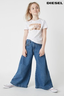 Умеренно выбеленные детские джинсы Diesel® Izzier
