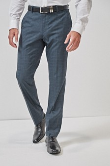 Check Tailored Fit Trousers