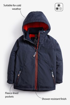 Fleece Lined Anorak (3-16yrs)