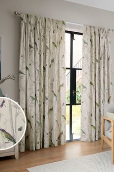 Chinoiserie Bird Trail Country Luxe Curtains (337115) | $79 - $216