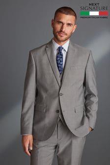 Signature Tollegno Fabric Suit: Jacket