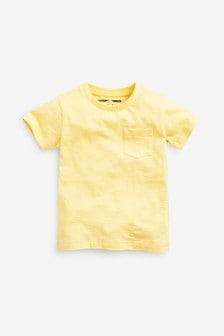 Однотонная футболка (3 мес.-7 лет)