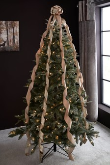 Gold Bow Tree Topper