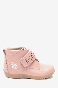 Little Luxe™ Leather Boots (Younger)