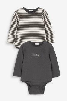 Боди-футболки (2 шт.) (0 мес. - 3 лет)