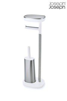 Joseph® Joseph Easystore Butler Plus Standing Toilet Paper Holder With Flex Steel