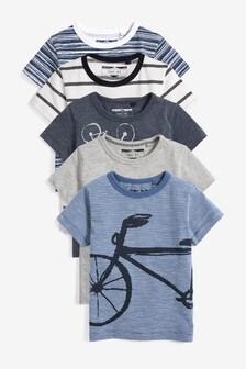 5 Pack Transport T-Shirts (6mths-7yrs)