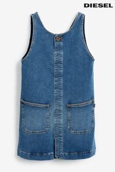 Diesel® Kids Mid Wash Denim Dress