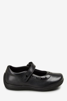 Leather Junior Mary Jane Shoes (Older)