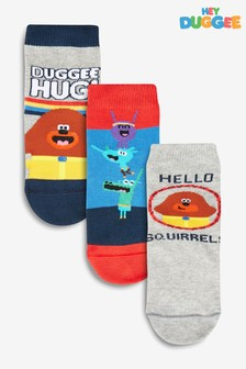 3 Pack Hey Duggee Socks (Younger)