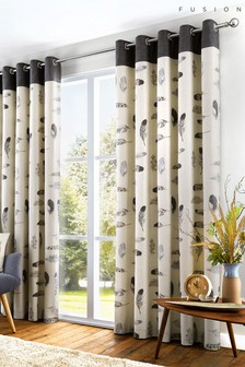 Fusion Idaho Feather Lined Curtains