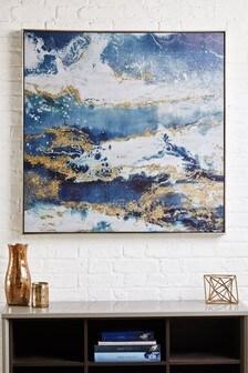 Galaxy Framed Canvas