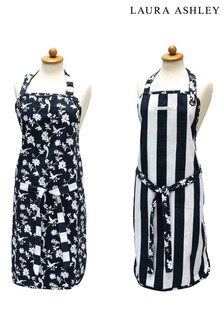 Laura Ashley Heritage Collectables Midnight Apron