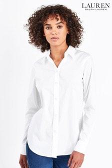 قميص أبيض Jamelko من Lauren Ralph Lauren