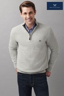 Джемпер с молнией 1/2 Crew Clothing Company Helston