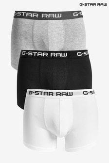 Набор из трех классических трусов-боксеров G-Star