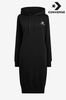Converse Star Chevron Embroidered Hoody Dress