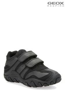 Geox Junior Crush zwarte sneaker