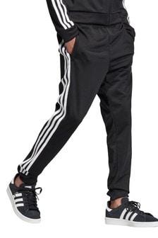 adidas Originals黑色Superstar慢跑運動褲