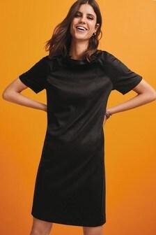 Трикотажное цельнокройное платье