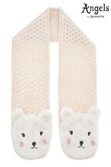 Angels by Accessorize Cream Polar Bear Scarf