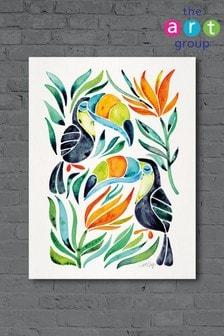 Tablou Tropical Toucans by Cat Coquillette