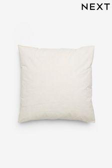 White Feather Cushion Pad