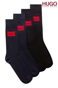 HUGO 2件裝襪子禮盒組