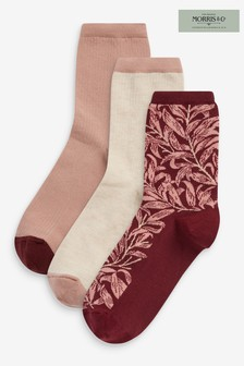 3 пары носков с принтомMorris & Co. at Next