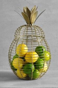 Pineapple Shaped Fruit Bowl