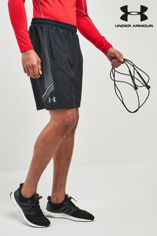 Under Armour Webstoff-Shorts mit Grafik