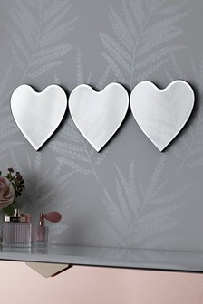 Heart Mirror Plaque